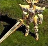 golden iron knight