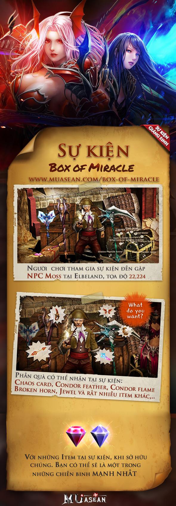 sukien box of miracle