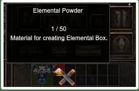 Elemental Powder