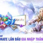 Donate lần đầu, tặng quà GIA NHẬP thần tốc