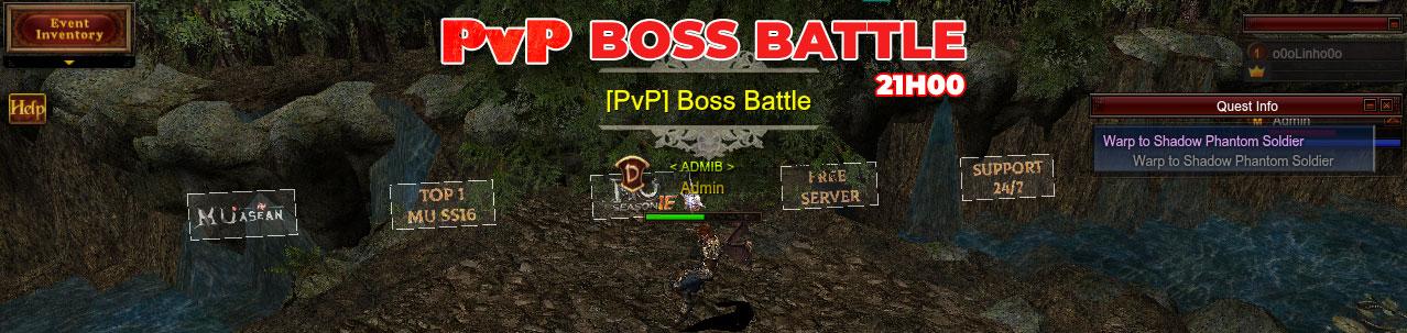 [PvP] Boss Battle